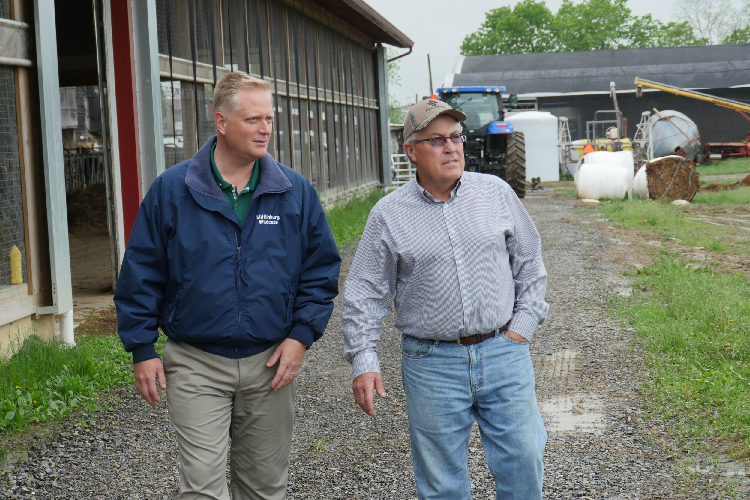 "Putting Farm Families First - ""To ensure success for the next generation of central and north central Pennsylvania farmers we need Fred Keller working for us in Washington."" - Dennis Spangler"
