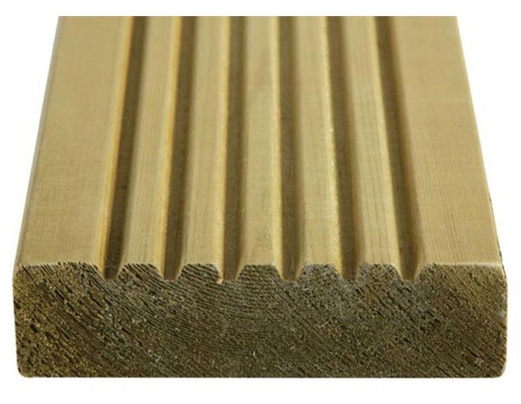 38x125mm Grade 1 European Redwood Deckboard