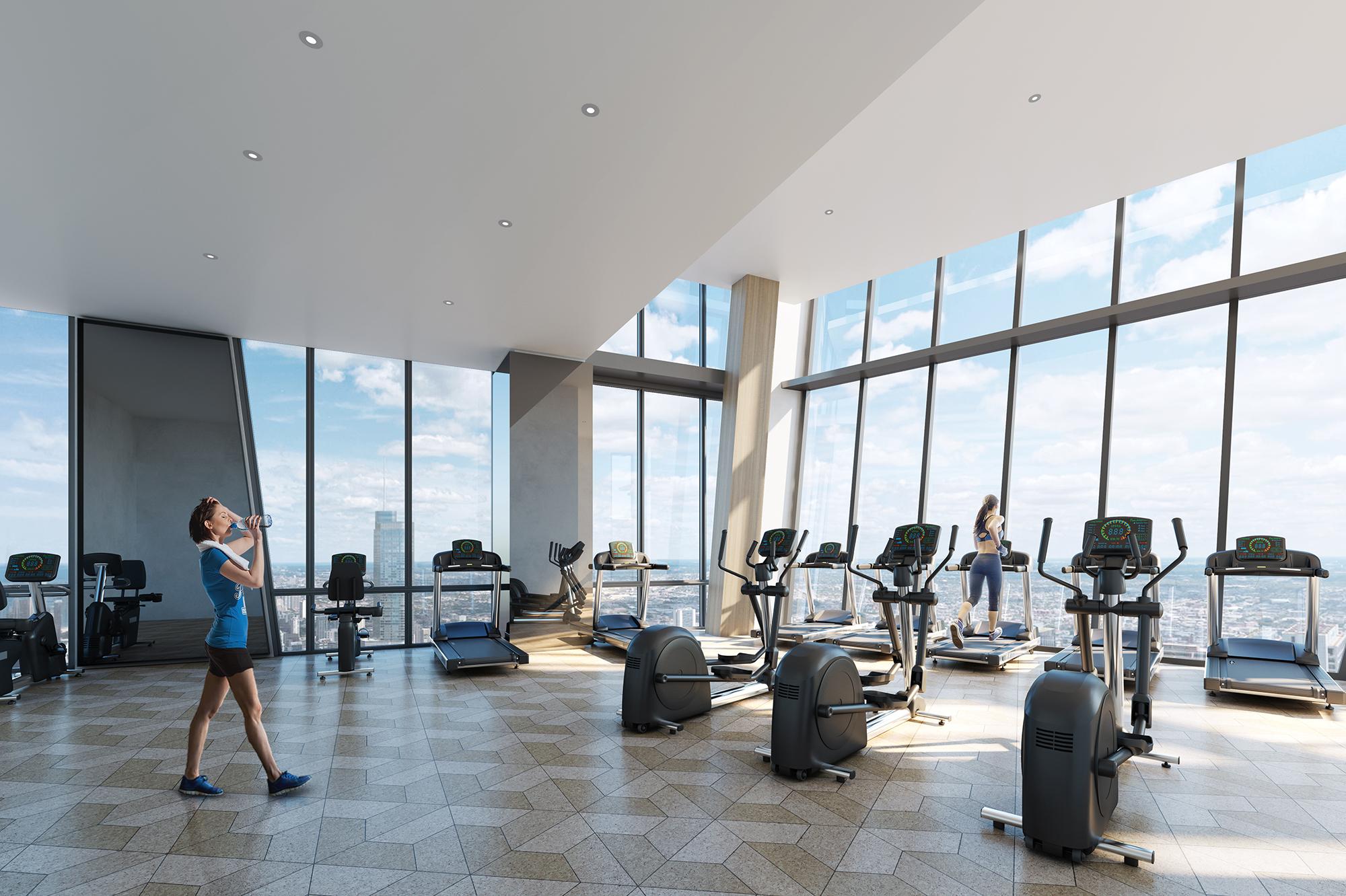 21st Floor Fitness Center