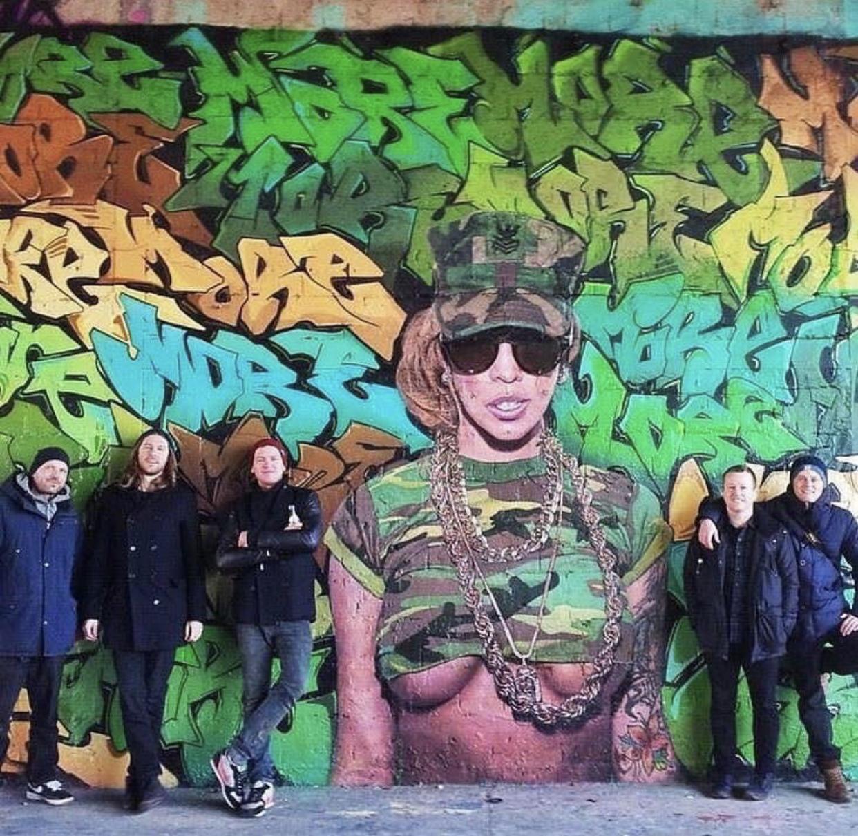 with Nick Flatt & Paul Punk (Berlin, Germany)