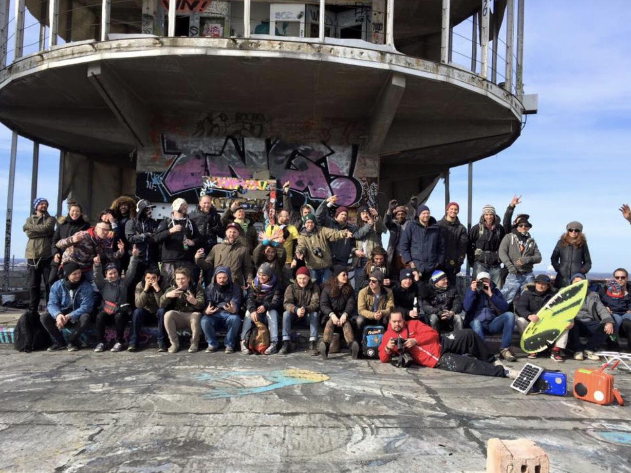 Berlin Rising - paint festival