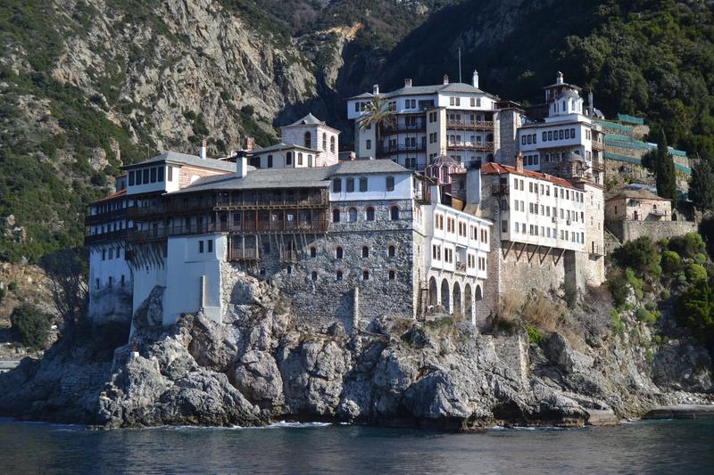 Monastery on Mount Athos