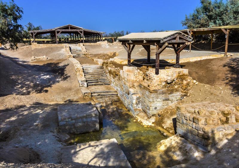 Baptismal Site at Bethany Beyond the Jordan