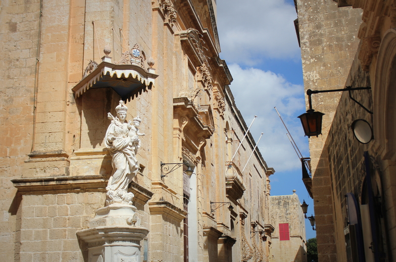 Carmelite Priory in Mdina. Malta