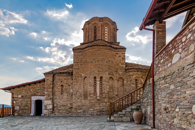 The Monastery of Panagia Olympiotissa in Thessaly