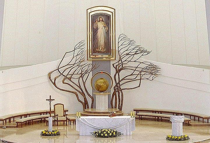 Divine Mercy Shrine in Lagiewniki