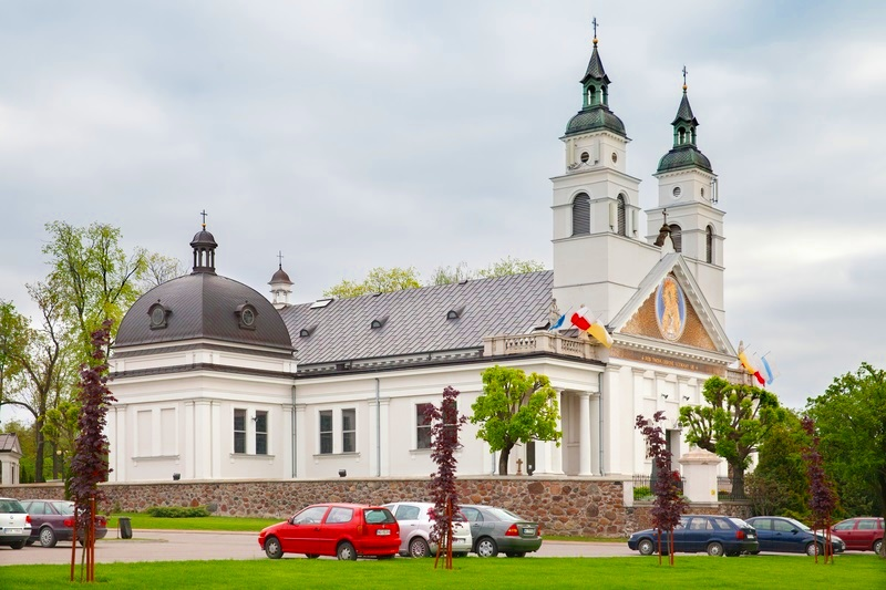 The Church of St. Anthony in Sokolka
