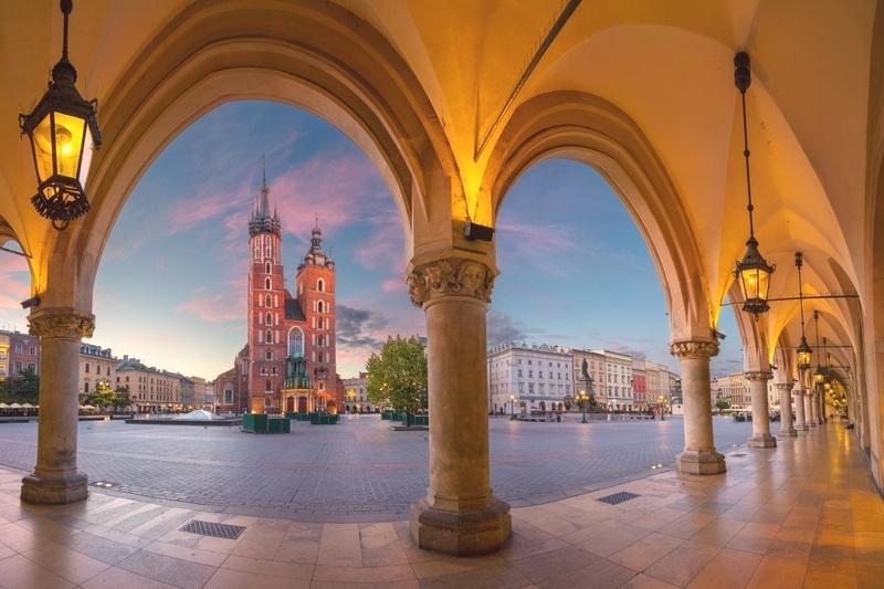 Krakow at Sunrise