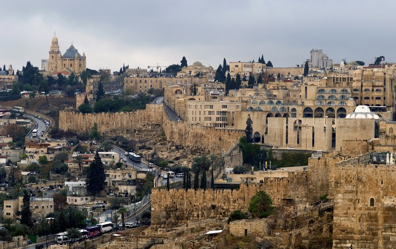Old City of Jerusalem from the Mount of Olives