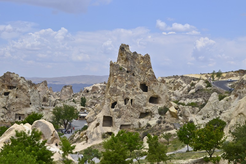 Rock-cut Churches in Goreme Open Air Museum.