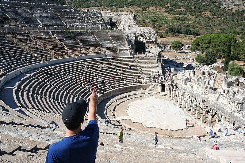 Stadium in Ephesus Where St. Paul Preached