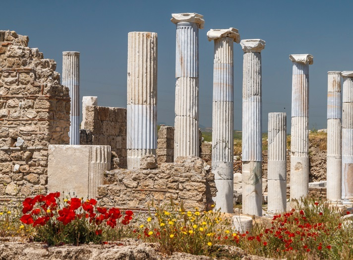 Ruins of the Ancient Town Laodicea