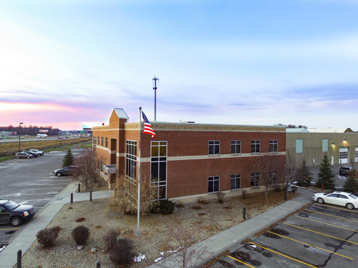 Picture of Rogers City Hall and Public Works Building