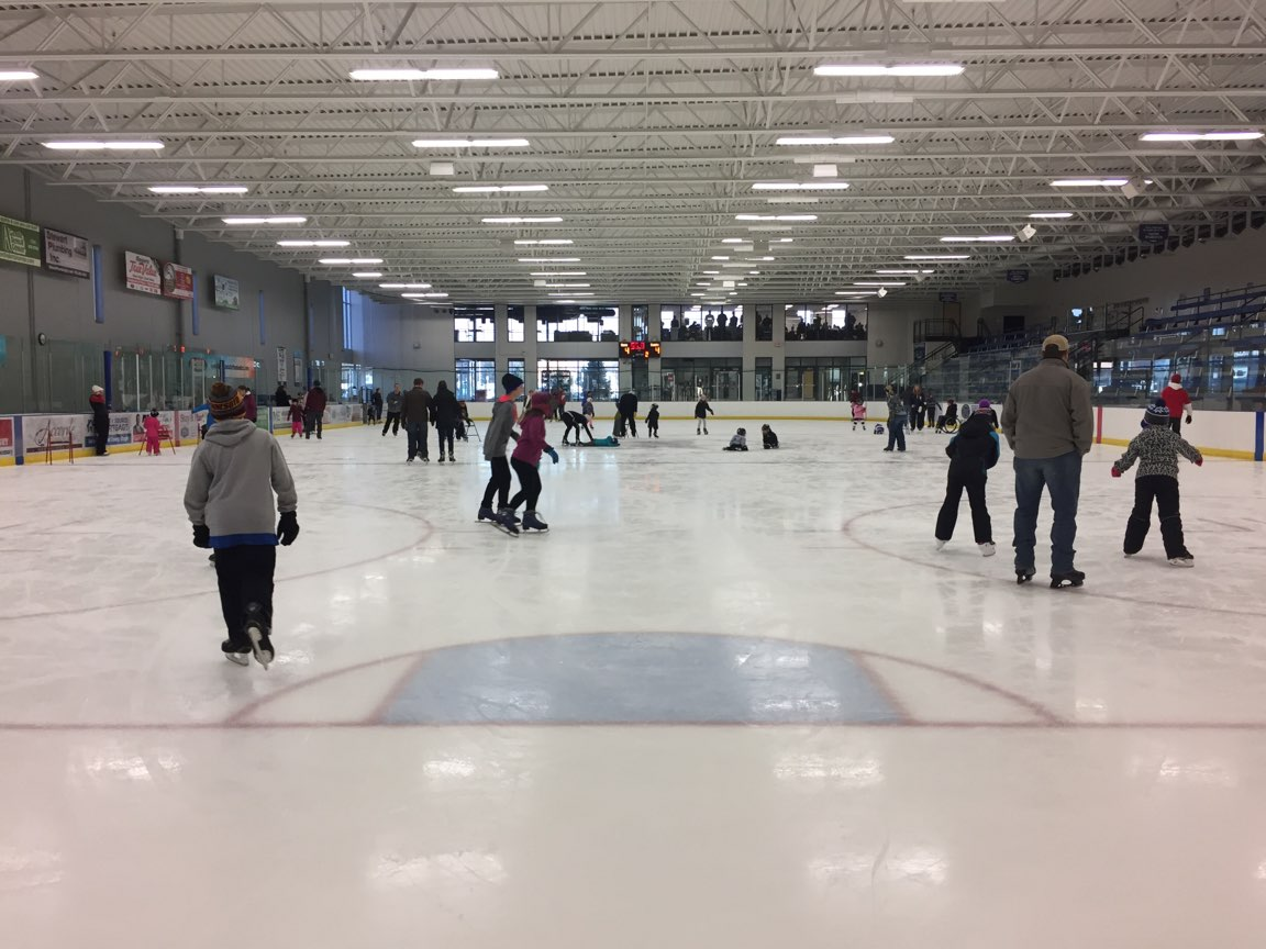 Open Skating - Cost: $4 Per Skater (over age of 5)Glow N Skate Cost: $5 includes glow necklace! No Passes or Coupons