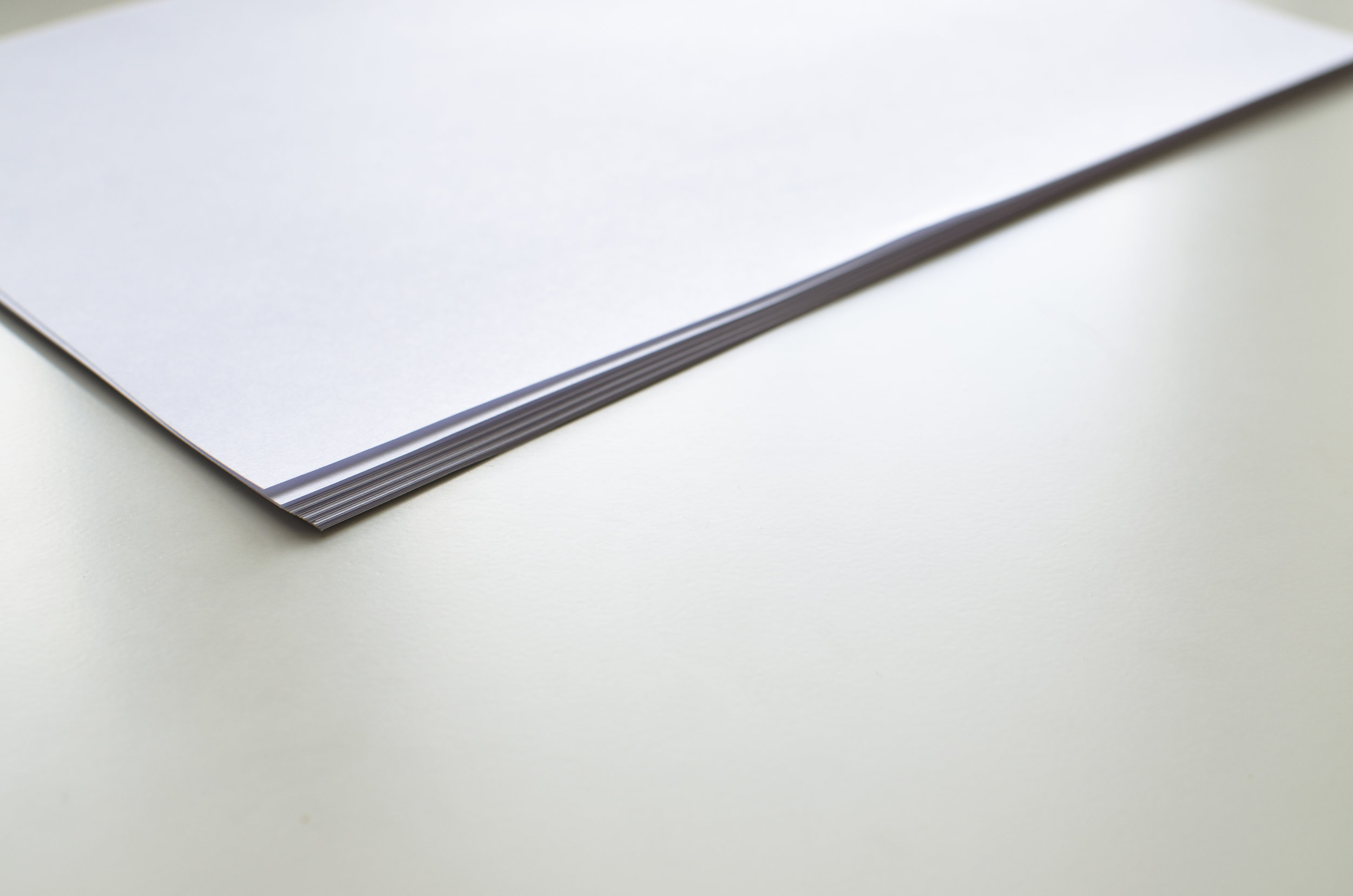 Picture of stack of papers