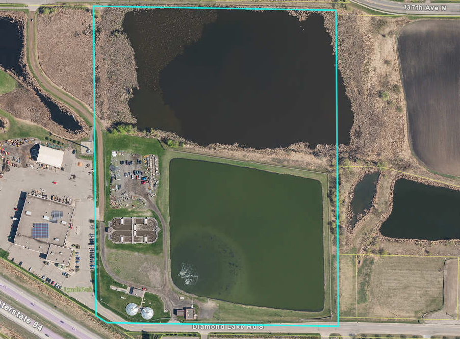 Picture of Rogers Wastewater Treatment Facility Property Site