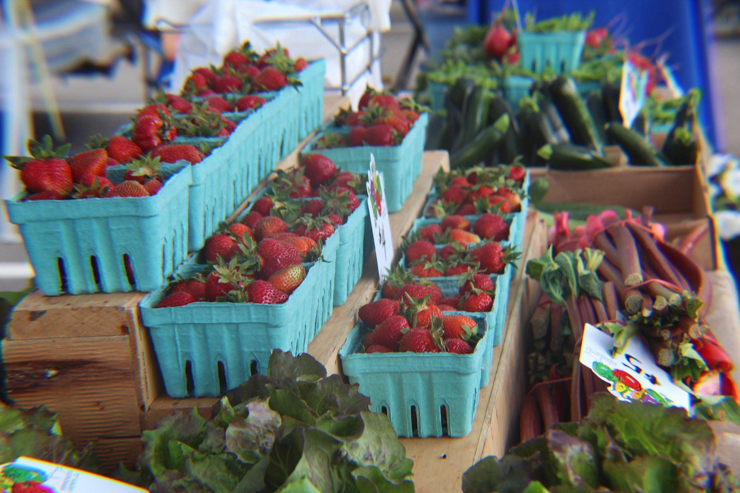 Picture of produce at Rogers Farmers Market