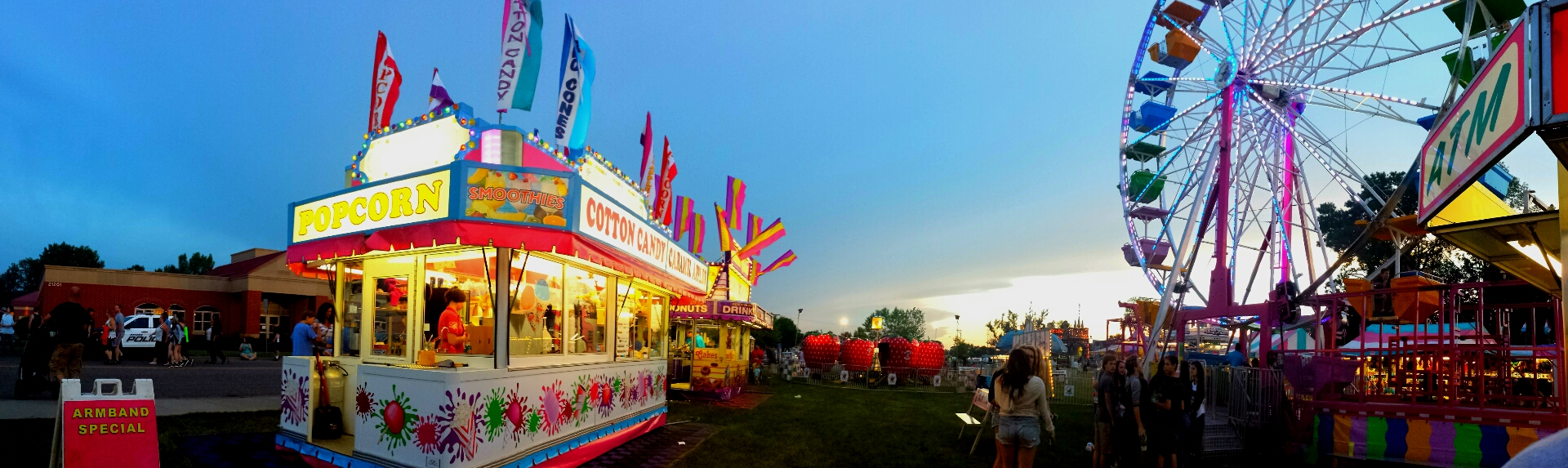 Picture of carnival at Rockin Rogers