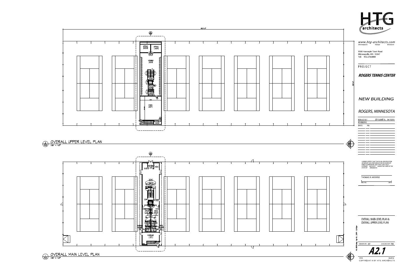 Picture of Upper and Main Level Plans