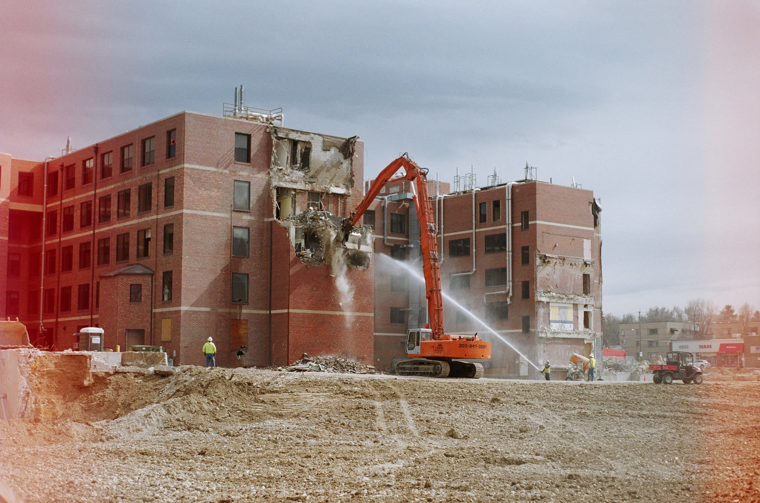 Picture of demolition.