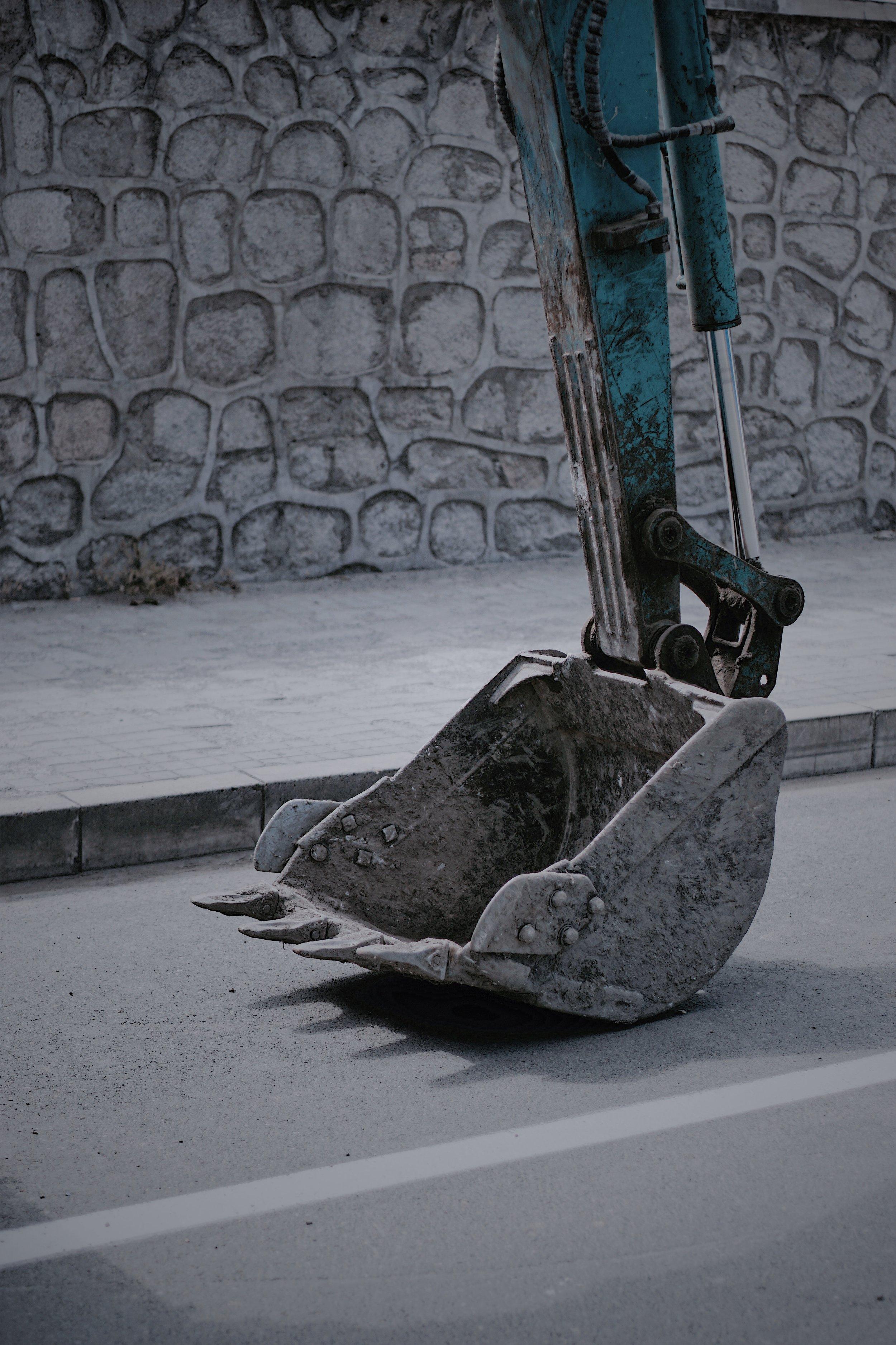 Picture of excavator
