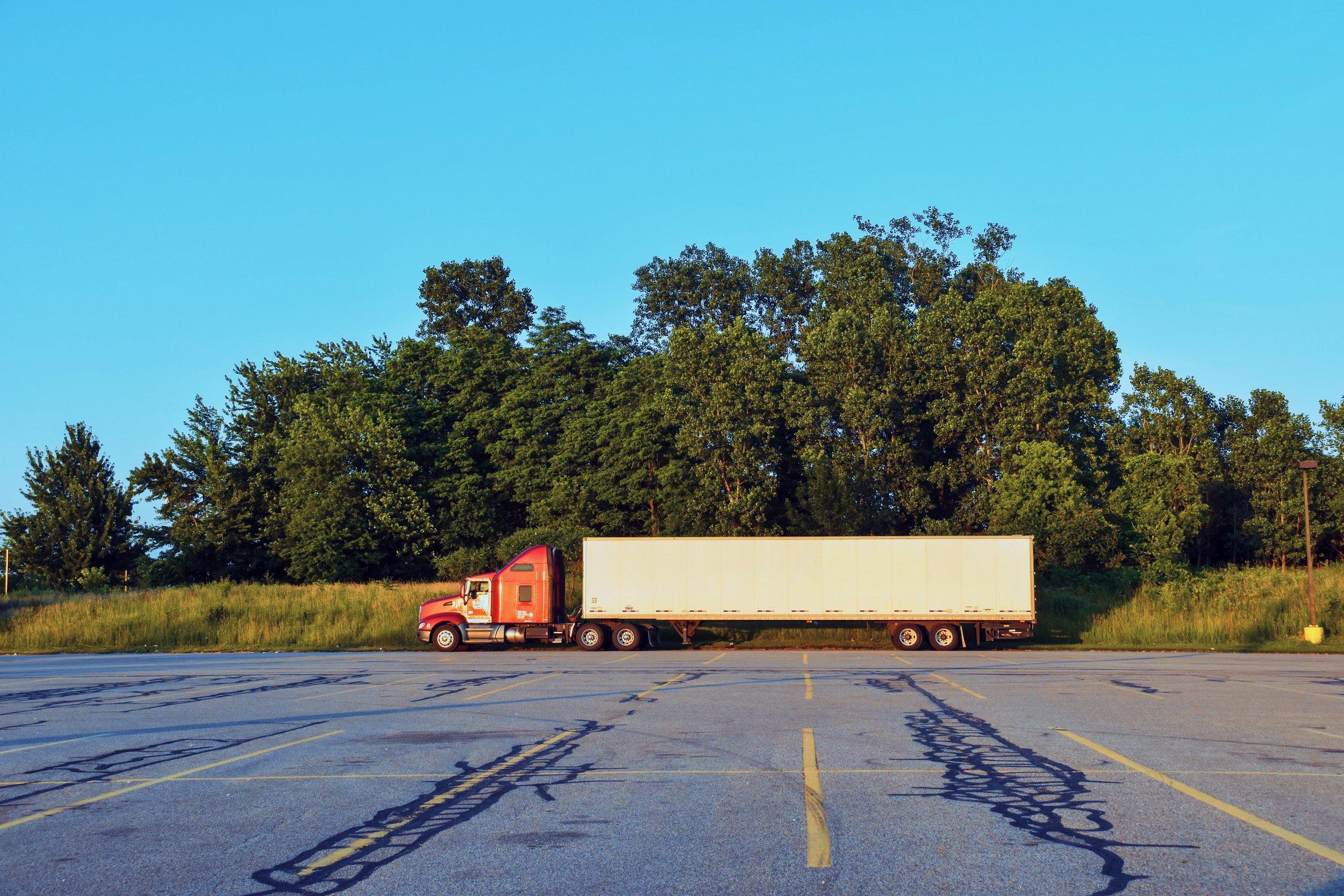 Picture of a semi-truck.