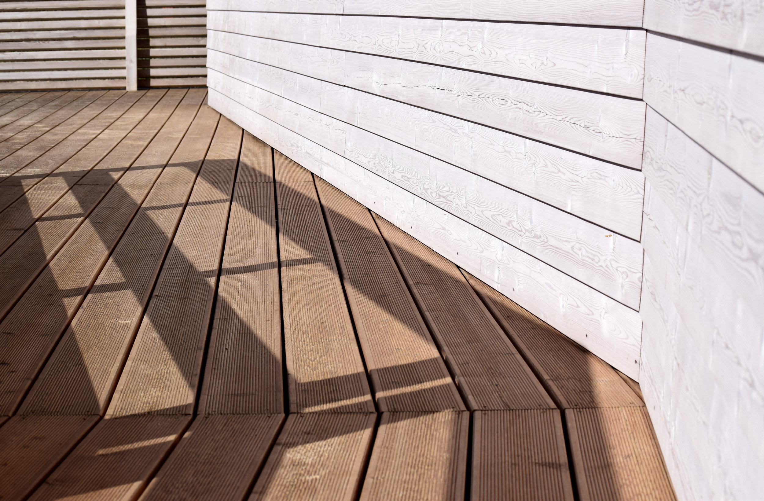Picture of deck.