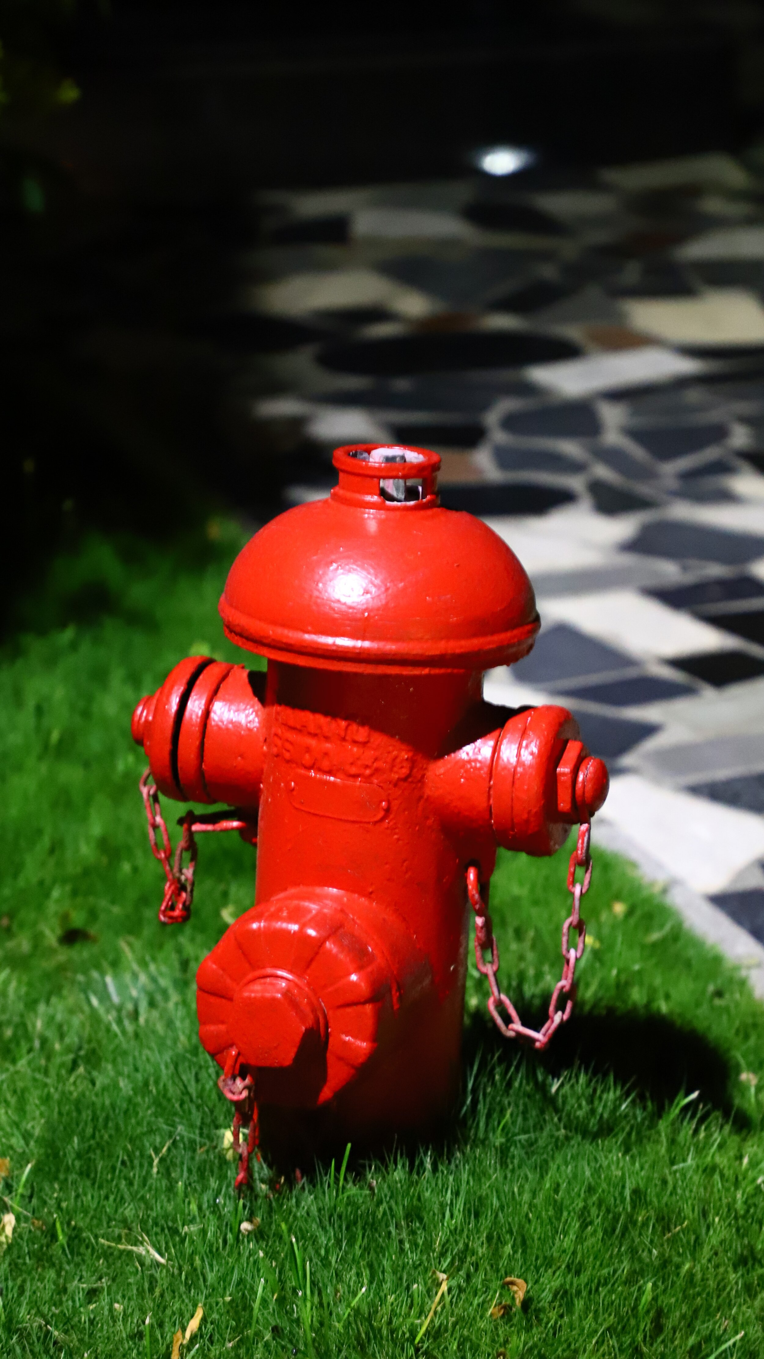 Picture of water hydrant.