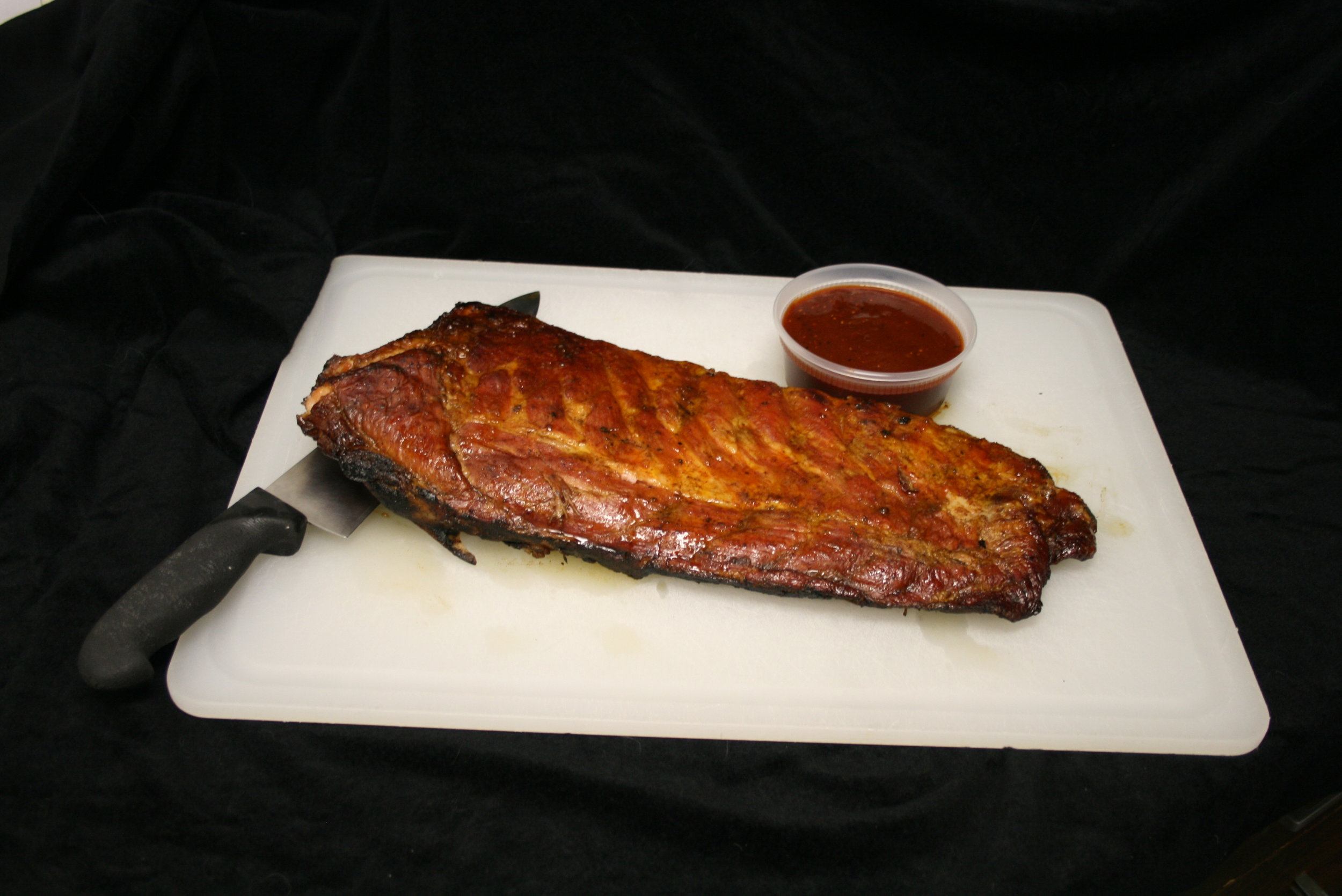 Slab from Steve's Rib Catering