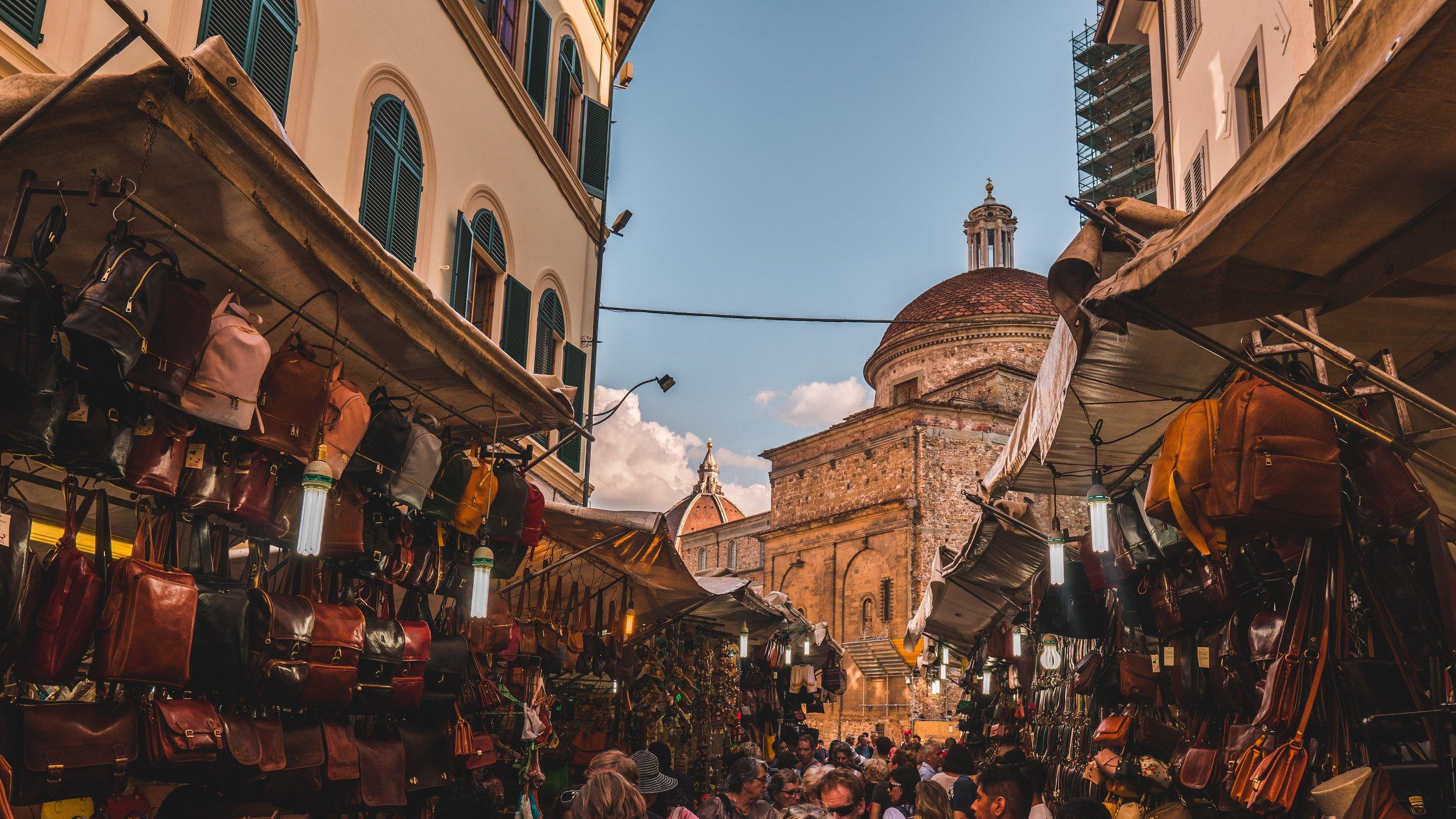Mercato San Lorenzo, Firenze