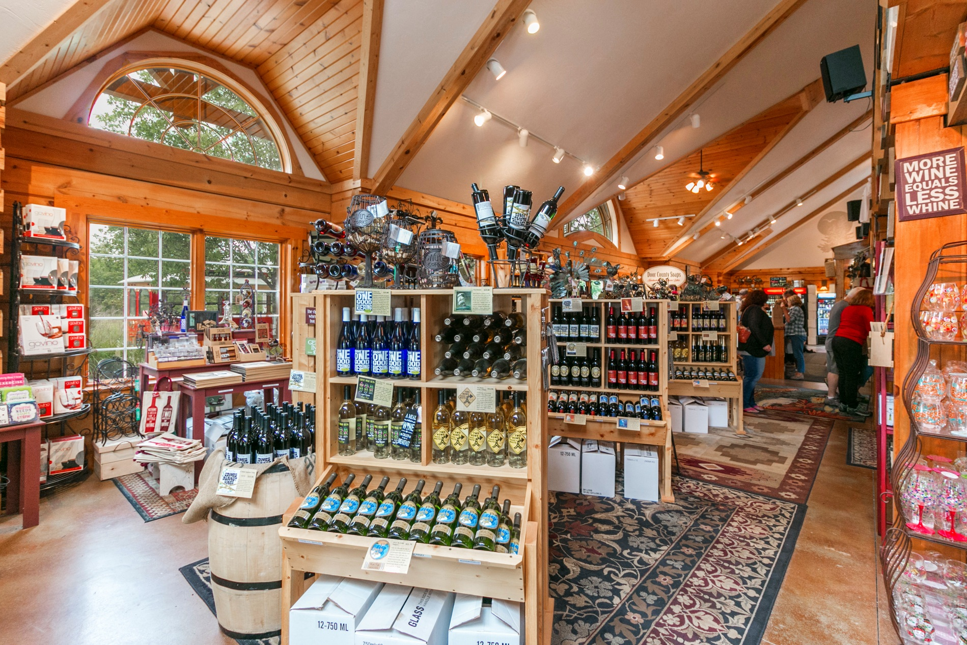 Check out our delicious wines and merchandise!  Our ever-growing portfolio of wonderful wines that range from dry, oak-barreled aged to sweet and fruity, offers something for every palate.