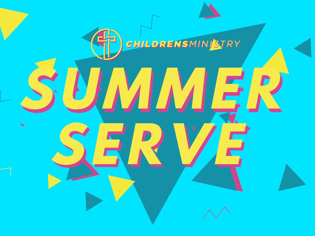 Summer Serve at Christ Community Church