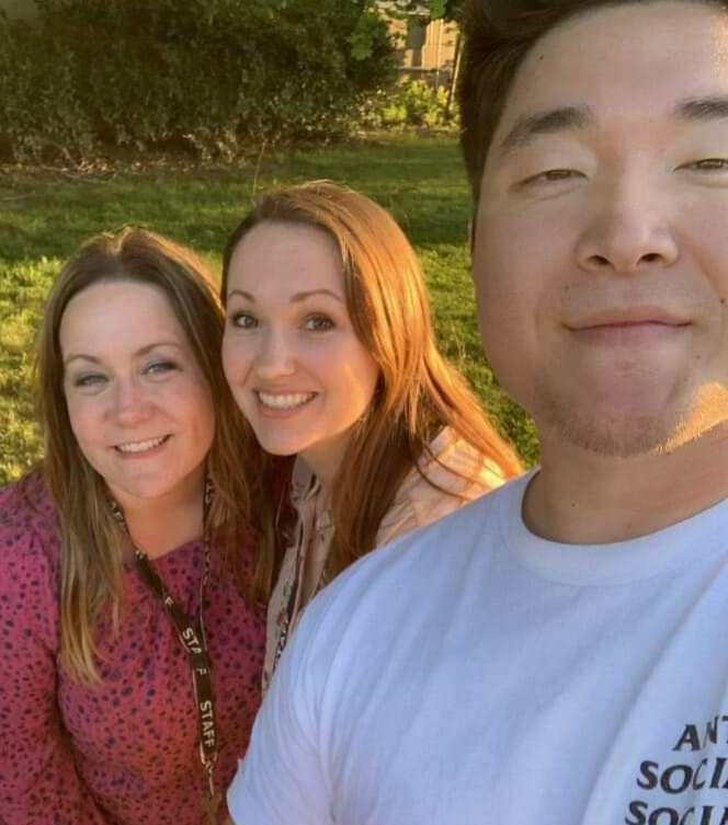 Left to Right: Jackie Lambert, Andrea Short, Moses Park