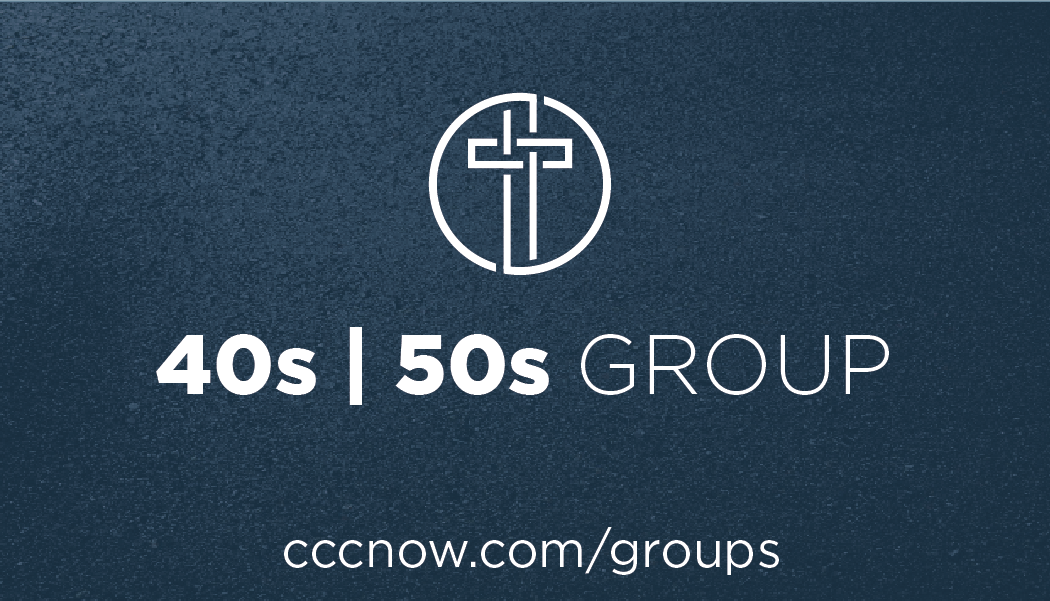 40s | 50s Group - The 40s | 50s group is launching on September 4th with a weekly Bible Study Group for you and others in your Life Stage. For more information on this group, contact Greg Alderman with any questions and explore what this group has to offer by clicking the link below.