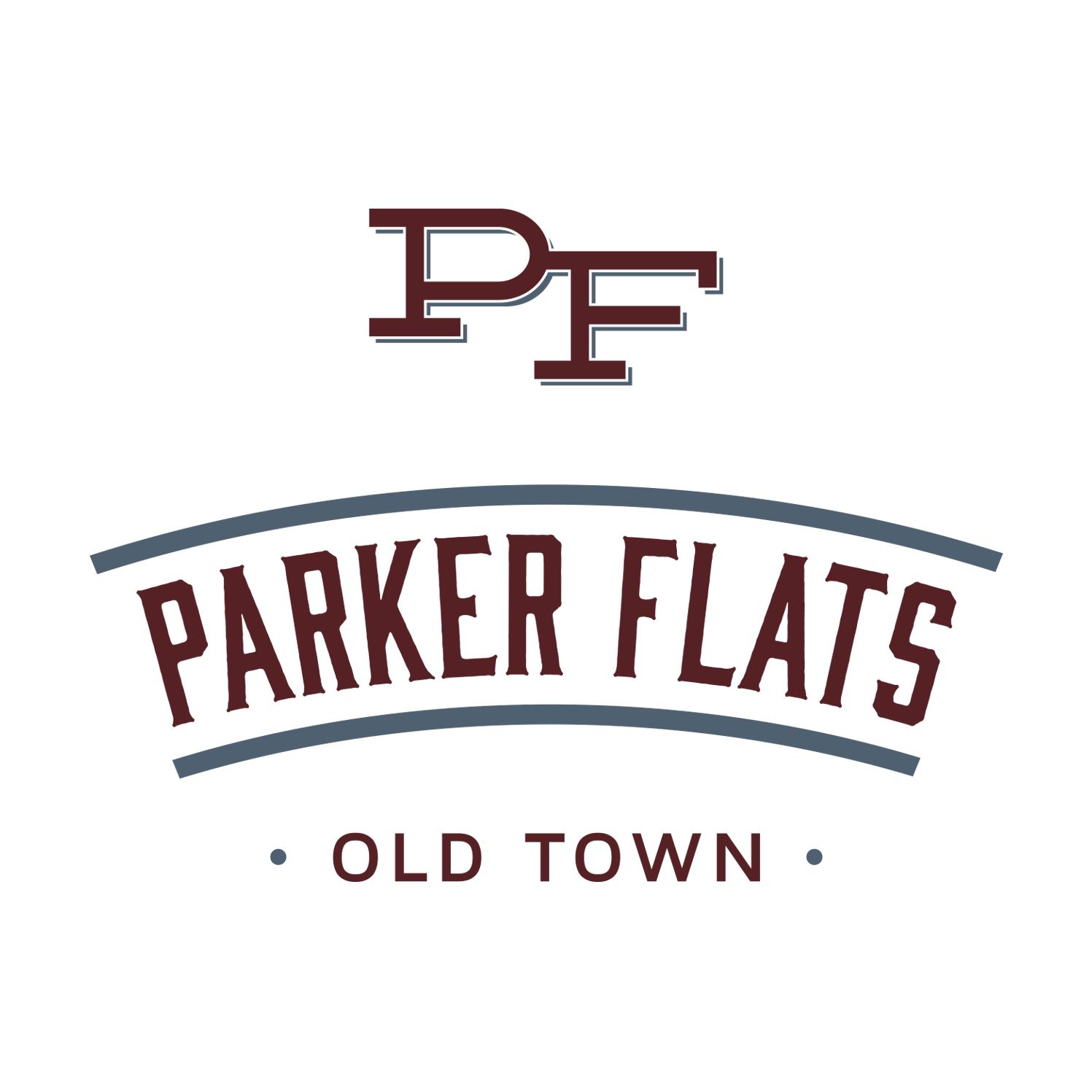 Parker Flats Logo Design
