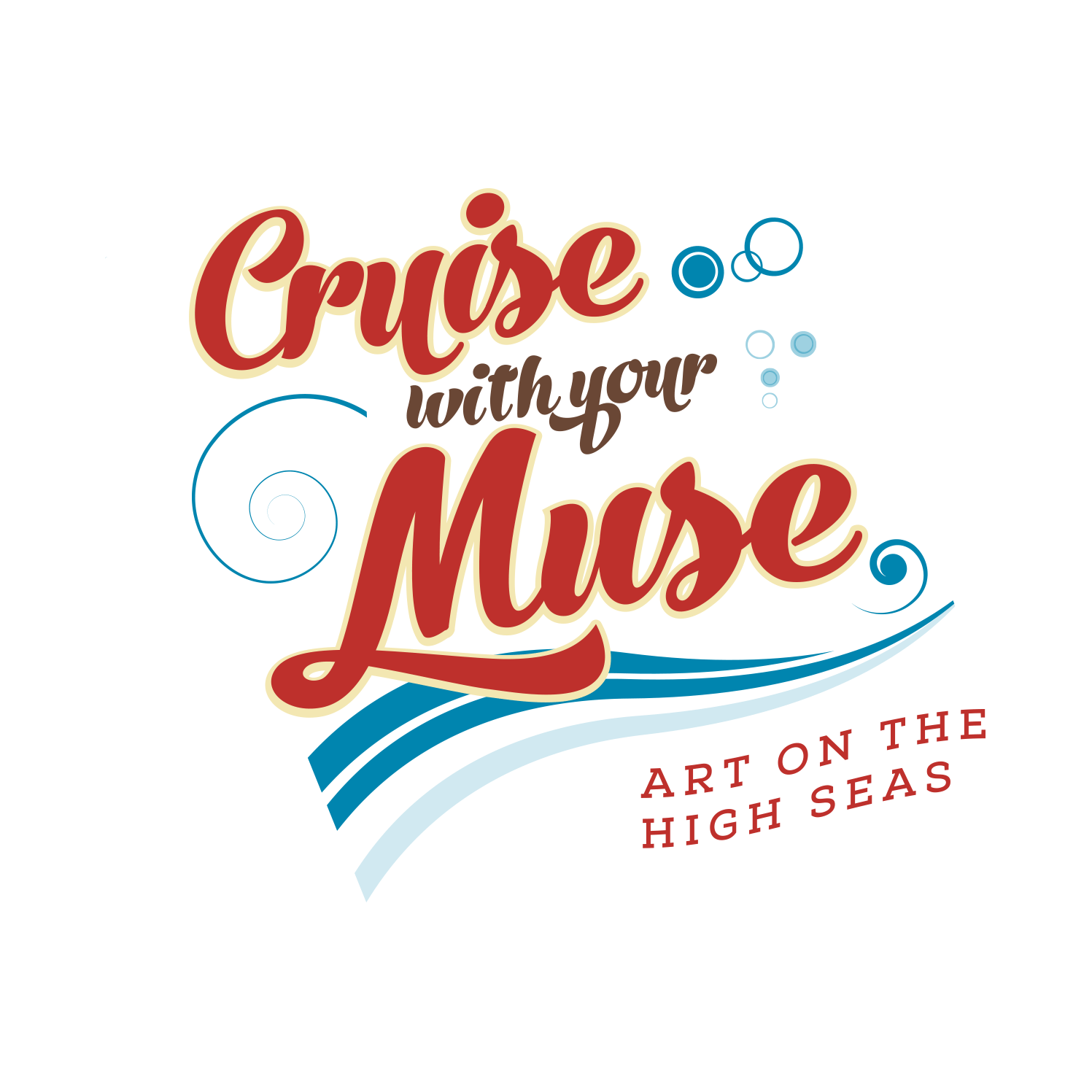 Cruise With Your Muse Logo Design
