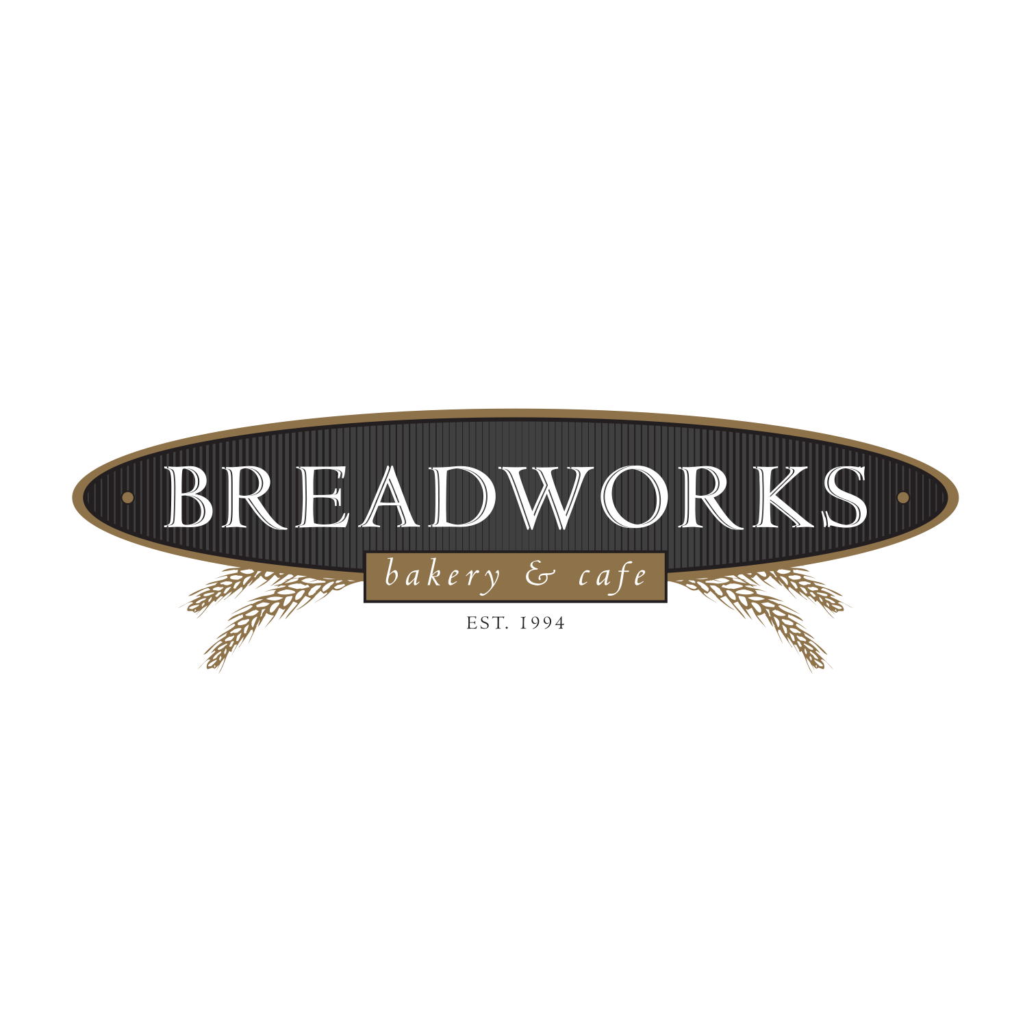 Breadworks Bakery and Cafe Logo Design
