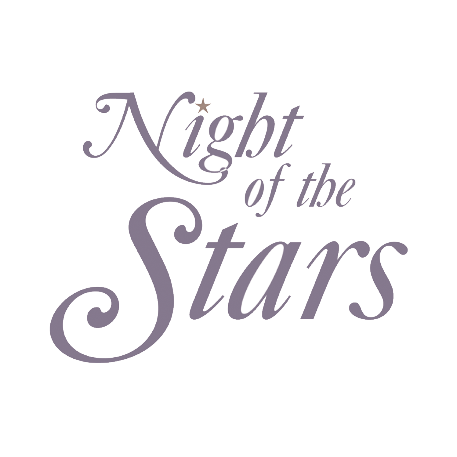 Night of the Stars Logo Design