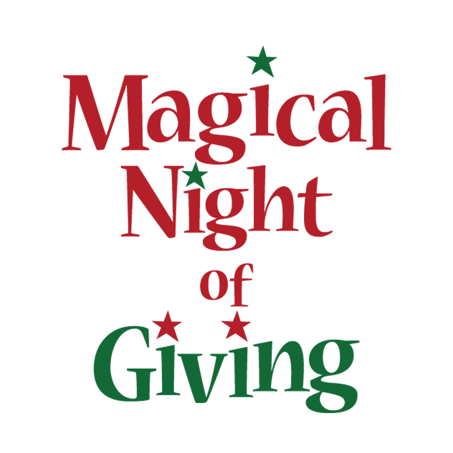 Magical Night of Giving Logo Design
