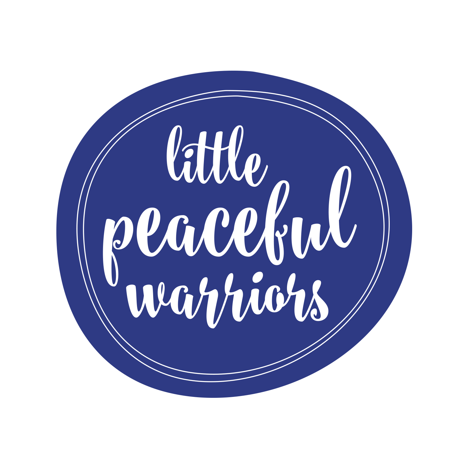 Little Peaceful Warrior Logo Design