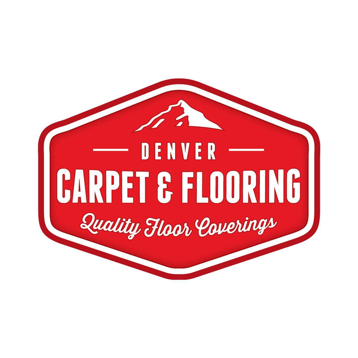 Denver Carpet and Flooring Logo Design