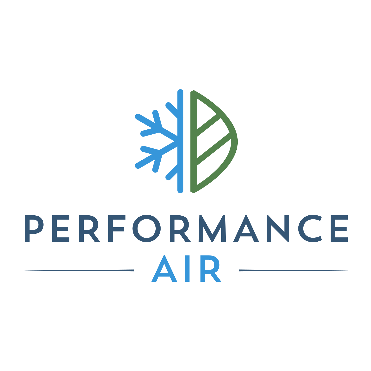 Performance Air Logo Design