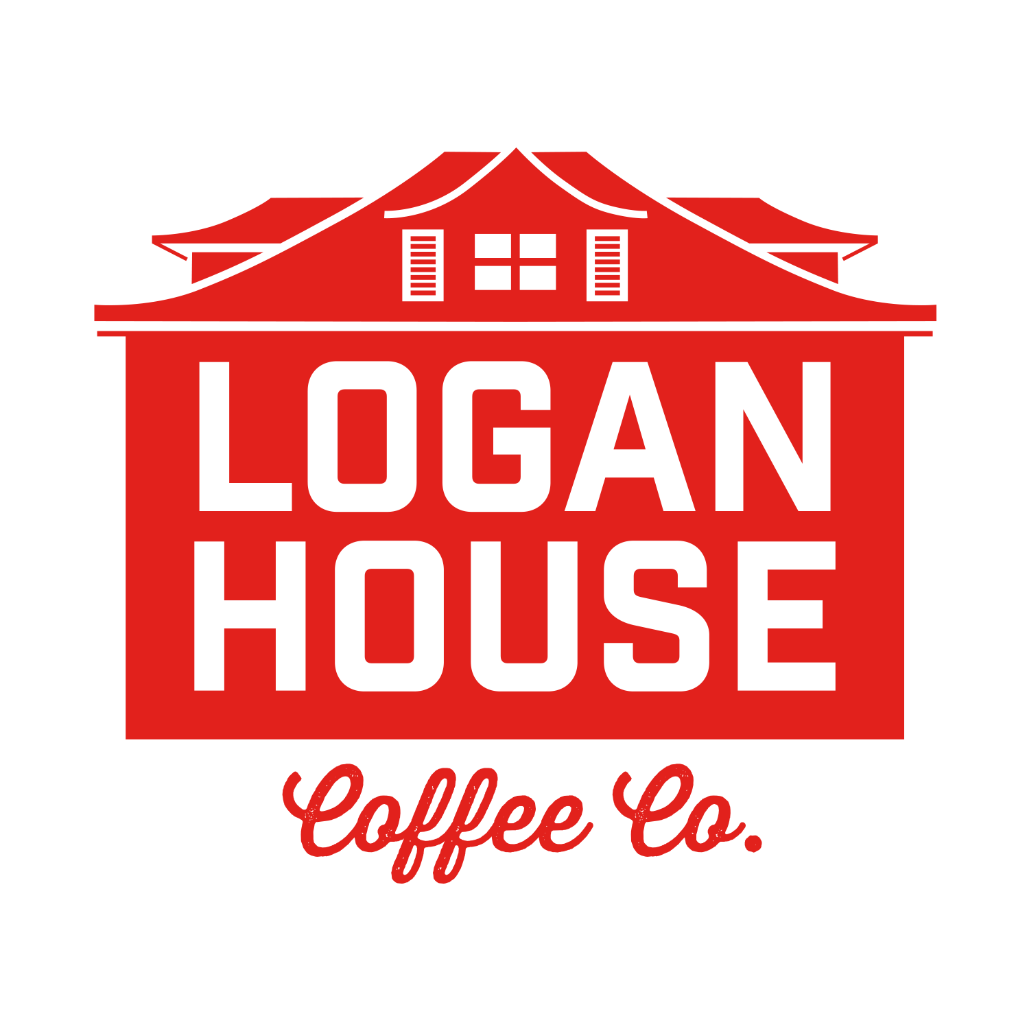 Logan House Coffee Co. Logo Design
