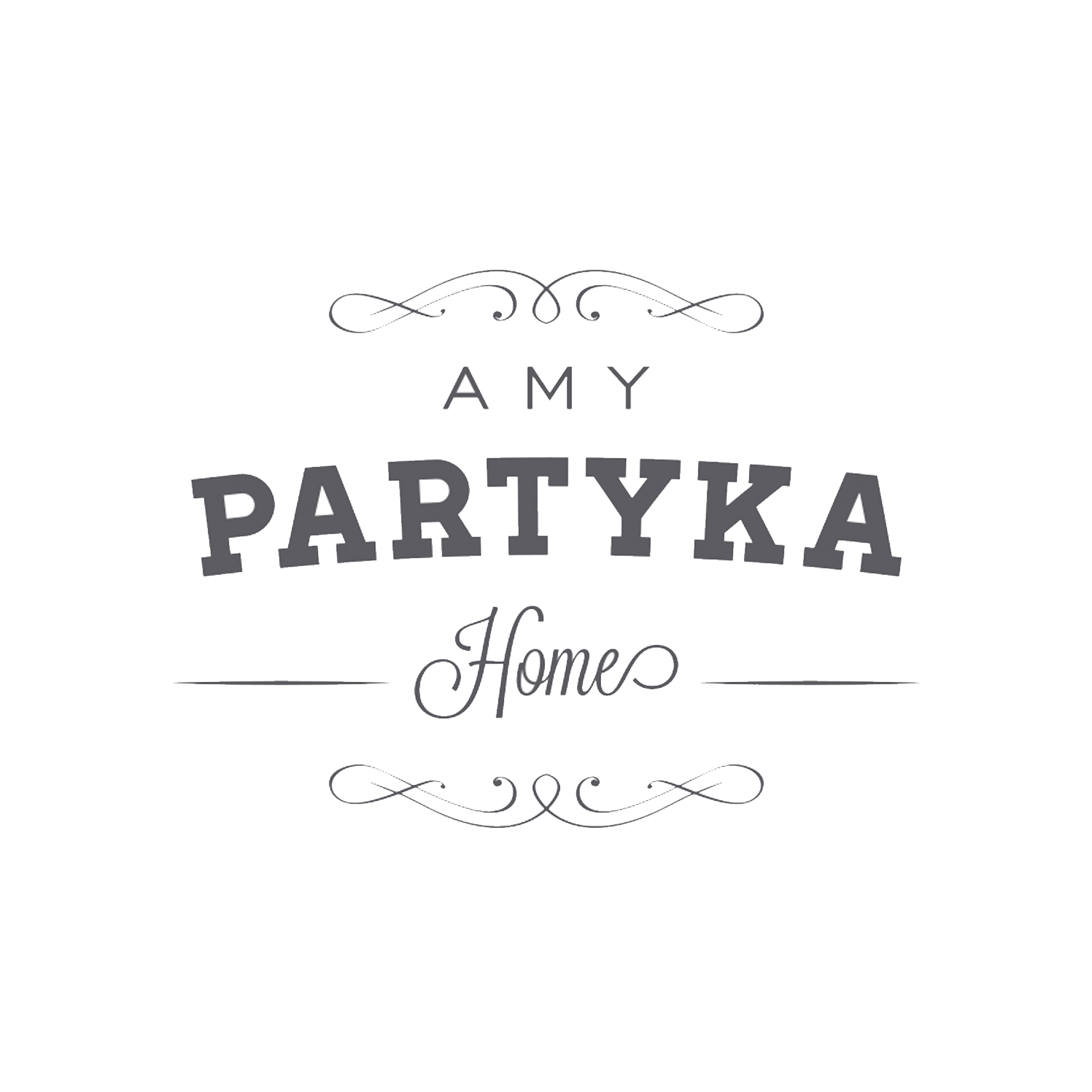 Amy Partyka Home Logo Design
