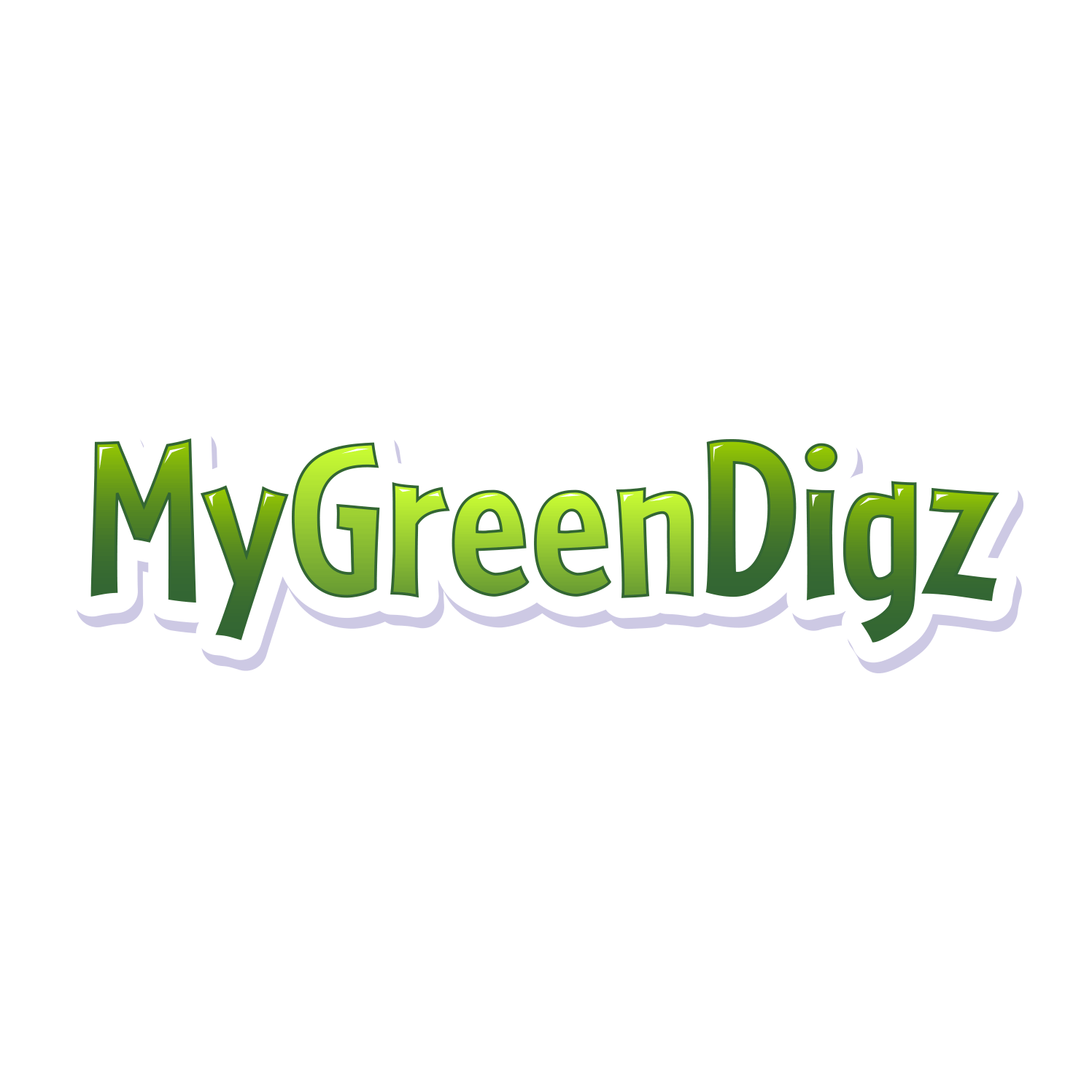 My Green Digz Logo Design