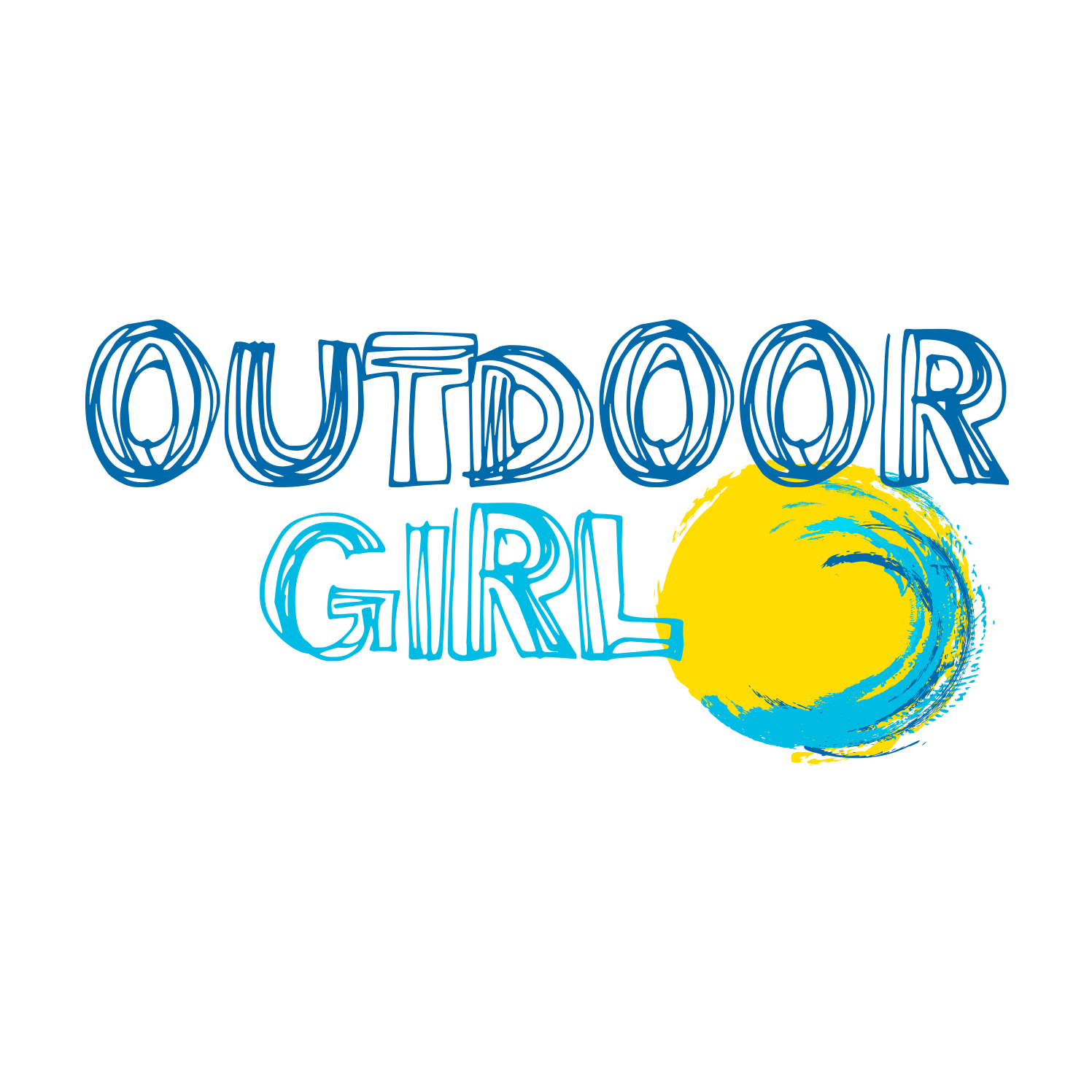 Outdoor Girl Logo Design