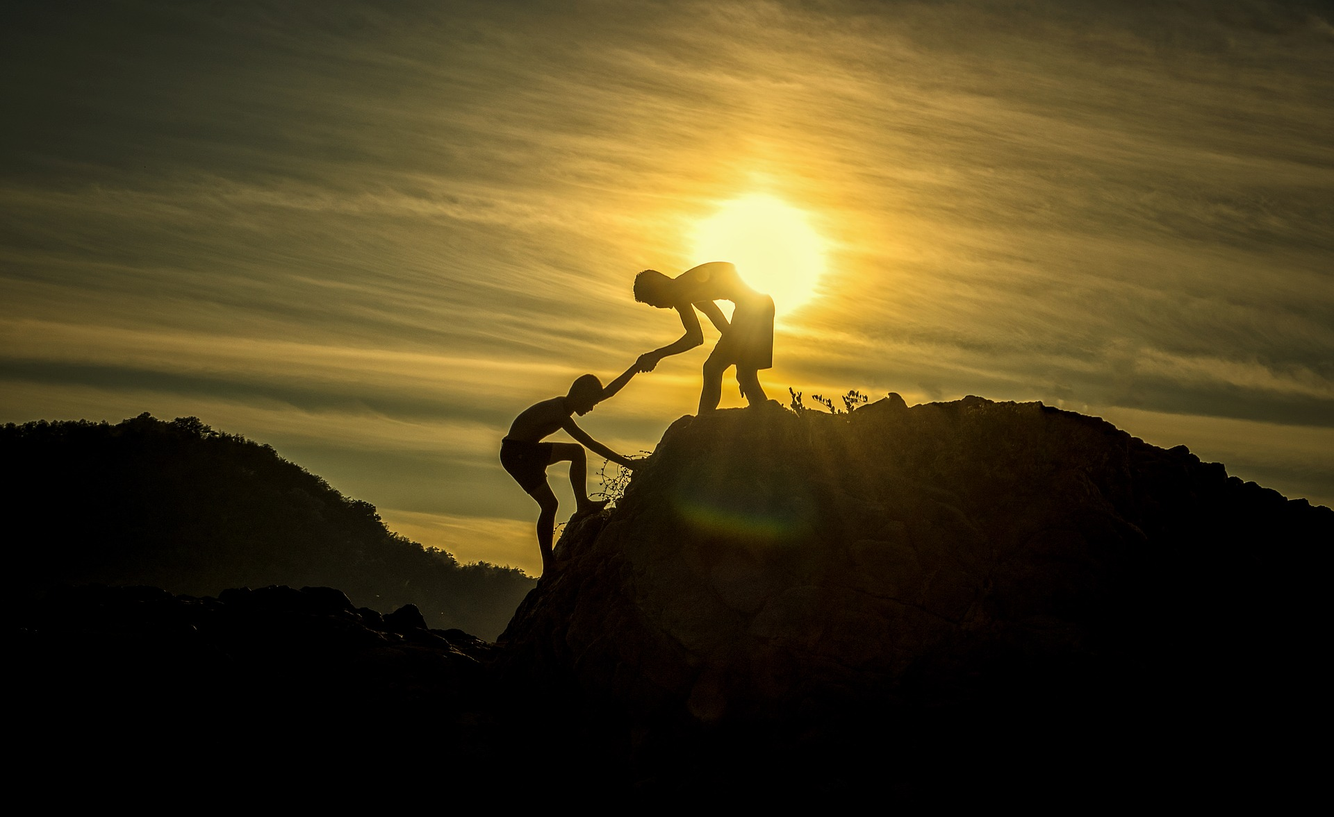 """- """"Alone we can do so little; together we can do so much."""" – Helen Keller"""