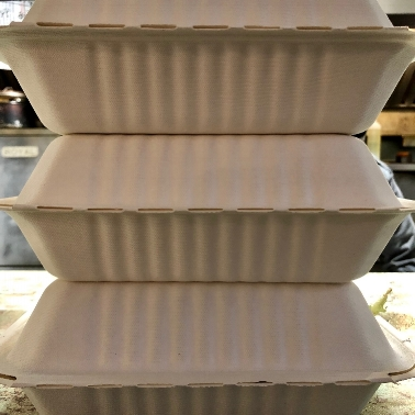 Our compostable takeout containers and more zero waste food service products are available on our  website !