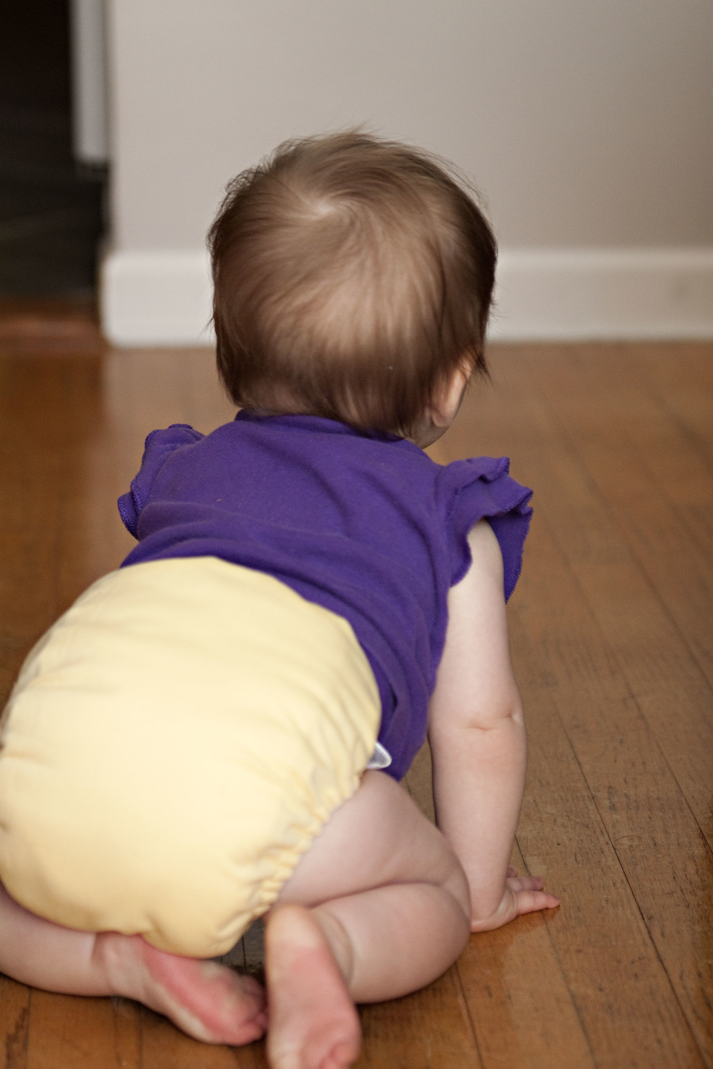 """Diapers! - They are the epitome of single use products and are so hugely wasteful. While cloth diapers aren't the right choice for every family or situation, we found they provided a huge cost savings for our family. We purchased several that we were able to use, wash, reuse, pass along to the next kid and then even resell when we were out of diapers. The water used to clean them is far less wasteful than hundreds of pounds of disposables piling up in landfills. They're really not that gross and come in super cute patterns and colors. Plus, kids usually potty train faster when they can """"feel"""" they're wet vs disposables that remove the wetness."""