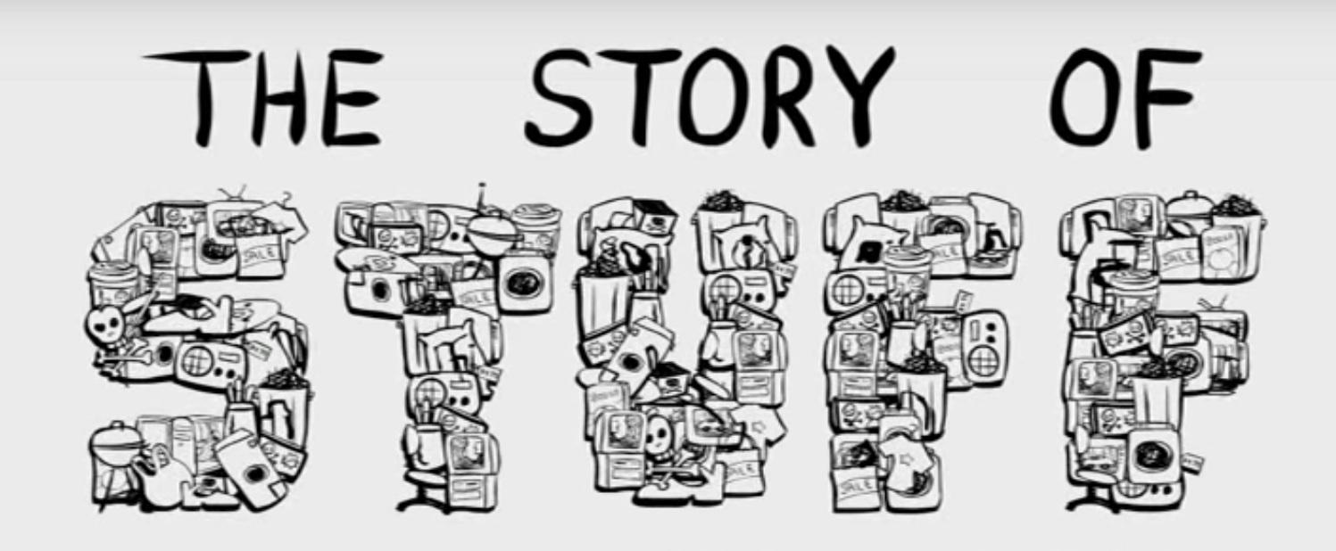 The Story of Stuff:  https://storyofstuff.org/movies/story-of-stuff/